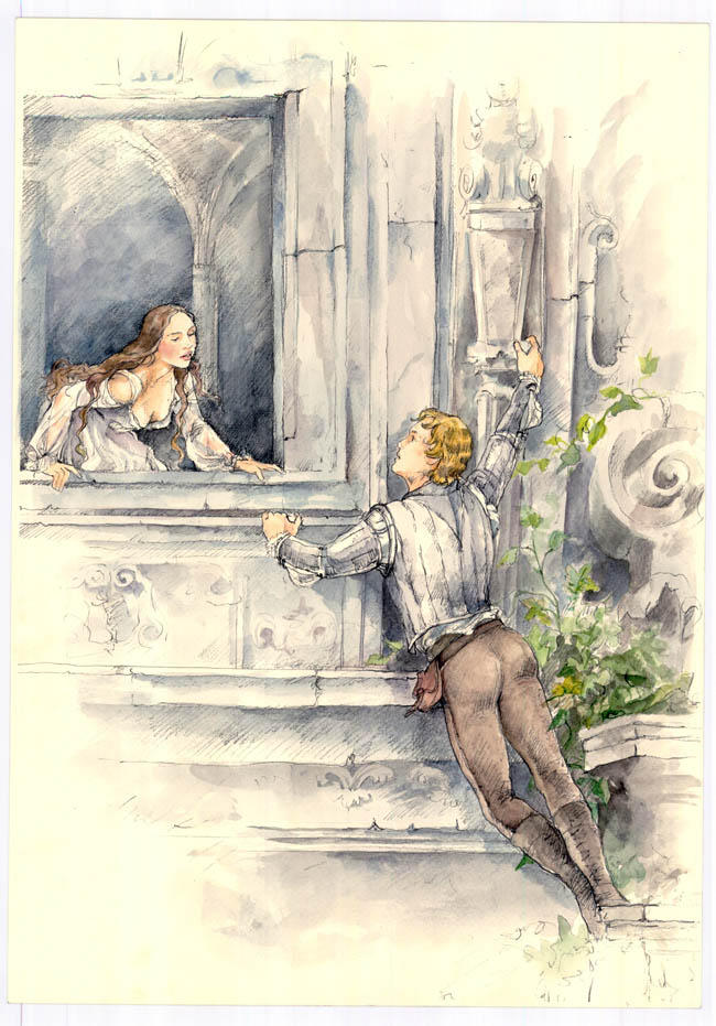 juliet 6 balcony  See Sketches From the Upcoming Romeo & Juliet Film
