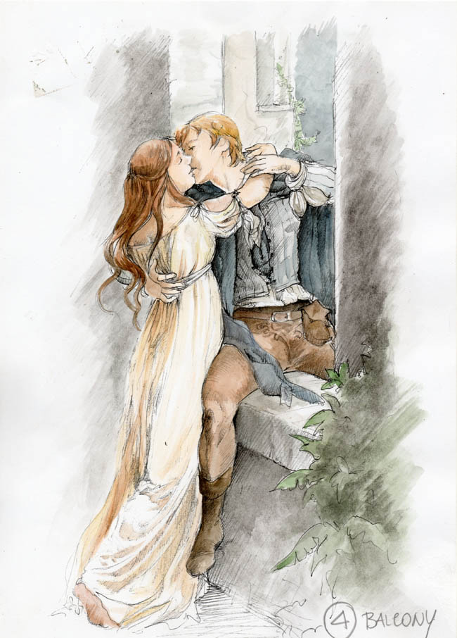 """See Sketches From the Upcoming """"Romeo & Juliet"""" Film"""