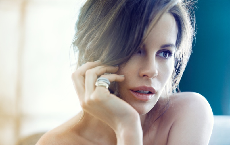 kate beckinsale1 Kate Beckinsale Stuns for Diego Uchitel in C Magazine Spread