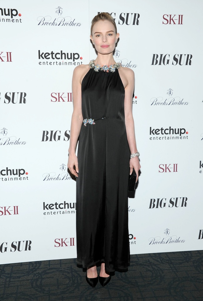 kate bosworth christopher kane1 Kate Bosworth Wears Christopher Kane at the Big Sur NYC Premiere