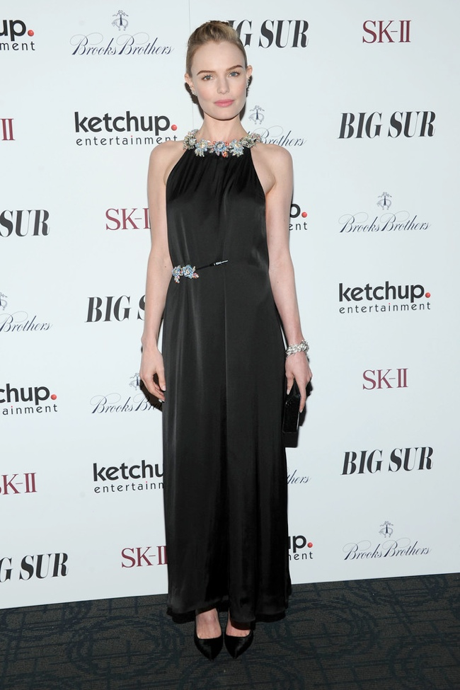 kate bosworth christopher kane2 Kate Bosworth Wears Christopher Kane at the Big Sur NYC Premiere