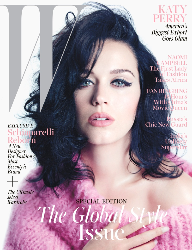 katy perry mario sorrenti1 Katy Perry Gets Sultry for November 2013 Cover Story of W Magazine
