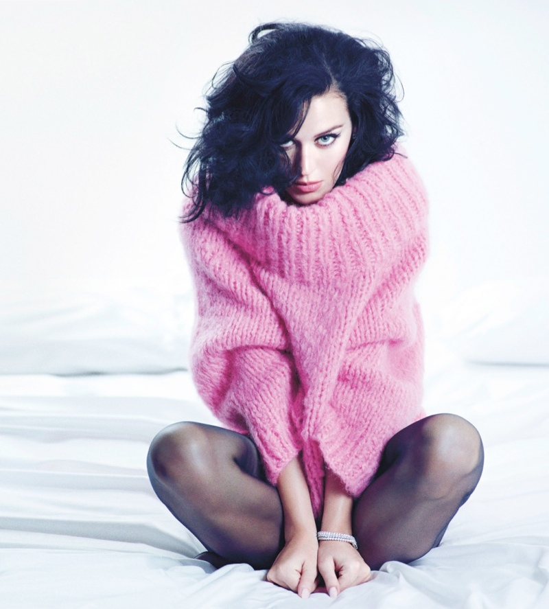 katy perry mario sorrenti3 Katy Perry Gets Sultry for November 2013 Cover Story of W Magazine