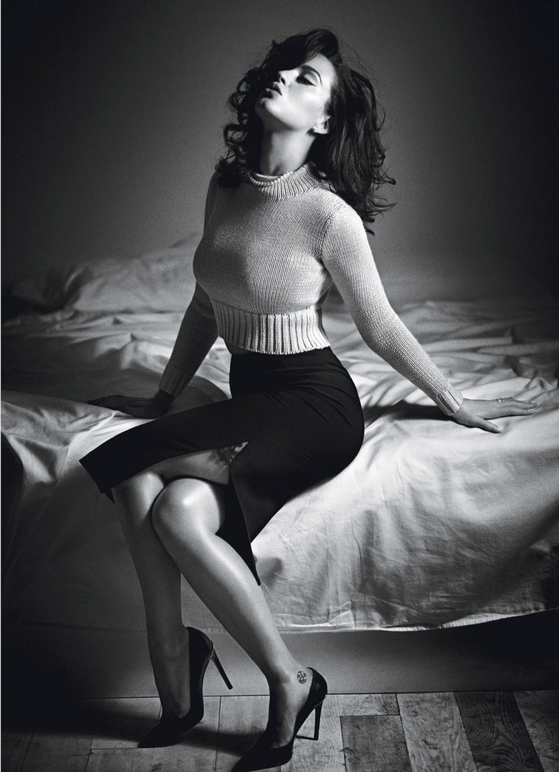 katy perry mario sorrenti6 Katy Perry Gets Sultry for November 2013 Cover Story of W Magazine