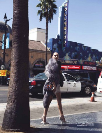Staz Lindes is a L.A. Girl for L'Officiel Turkey by Mehmet Erzincan
