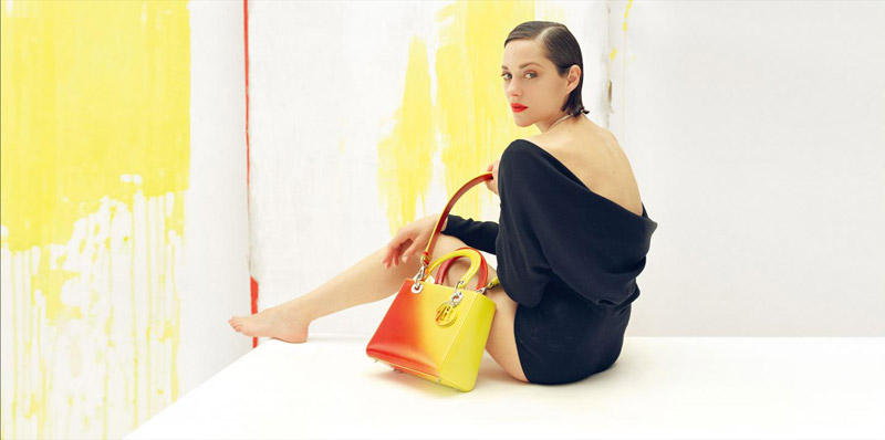 lady dior3 Marion Cotillard Stars in Lady Dior Resort 2014 Campaign by Tim Walker