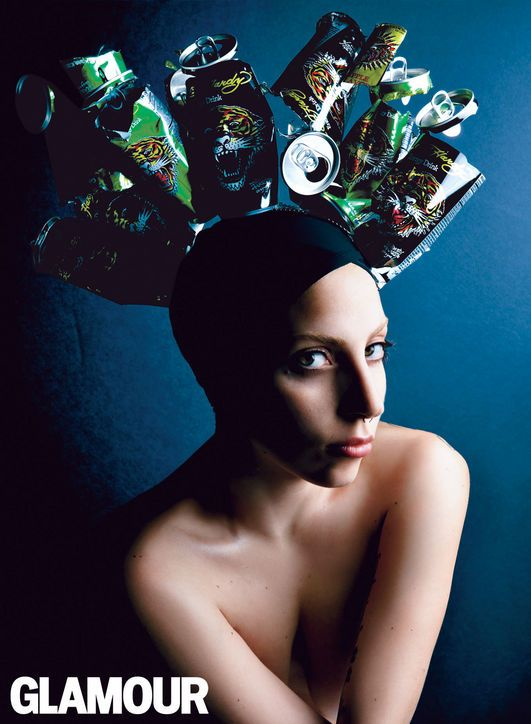 lady gaga pictures3 Lady Gaga Covers Glamours December 2013 Issue