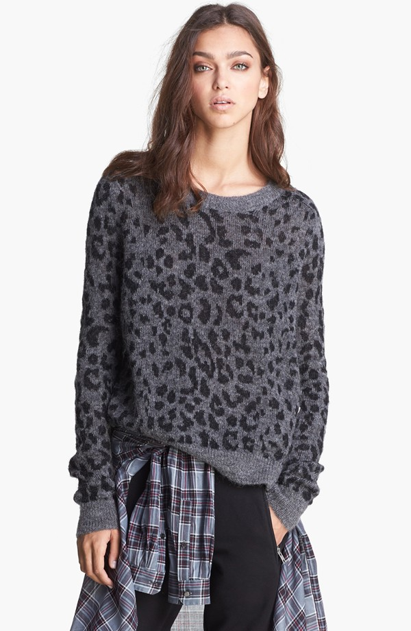 leopard sweater Sweater Weather | 7 Sweaters for the Fall/Winter Season