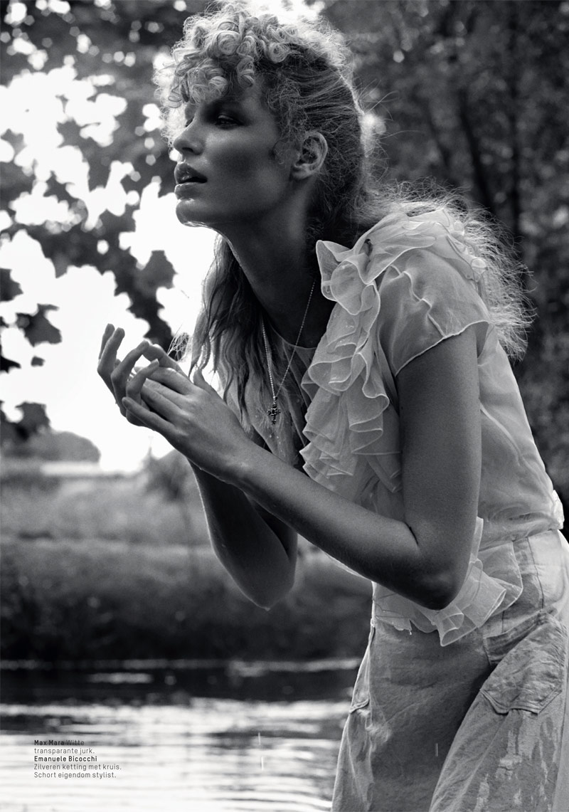 lofficiel philip riches12 Caroline Winberg Enchants for Philip Riches in LOfficiel Netherlands Shoot