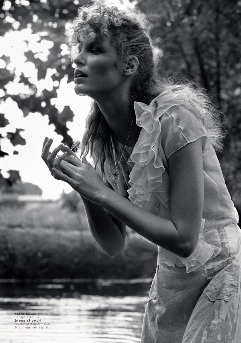 Caroline Winberg Enchants for Philip Riches in L'Officiel Netherlands' Shoot