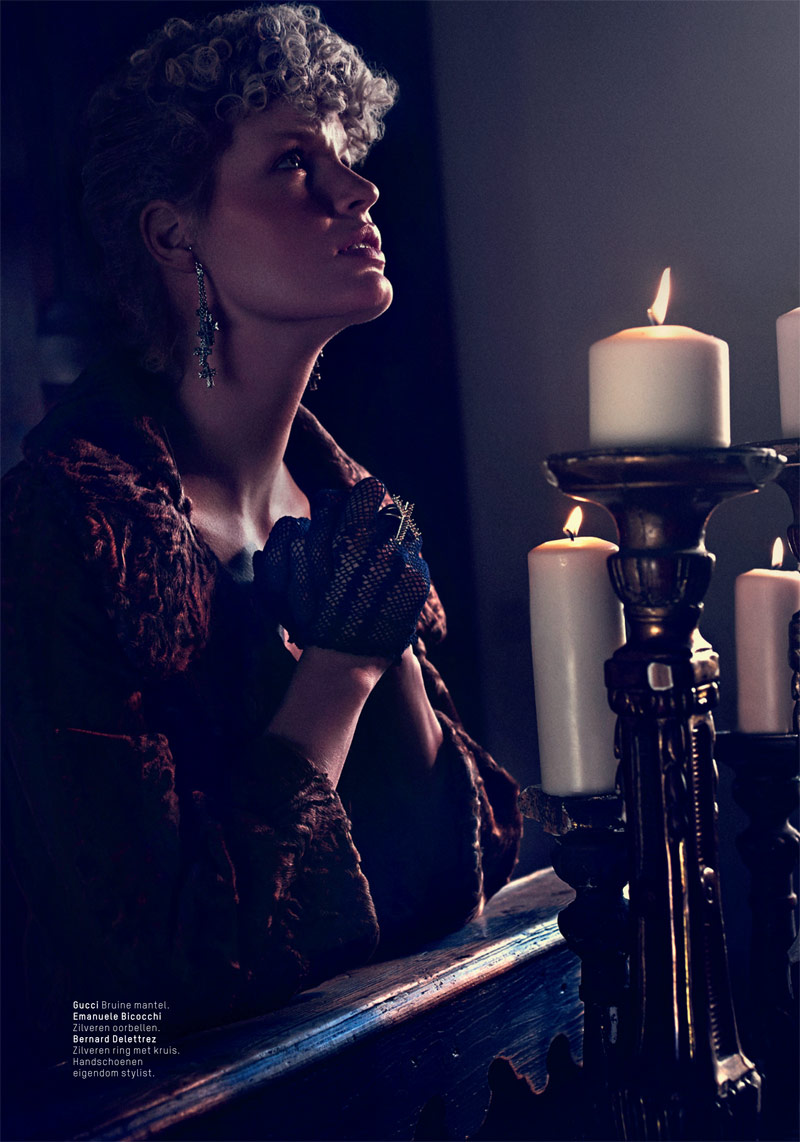 lofficiel philip riches3 Caroline Winberg Enchants for Philip Riches in LOfficiel Netherlands Shoot