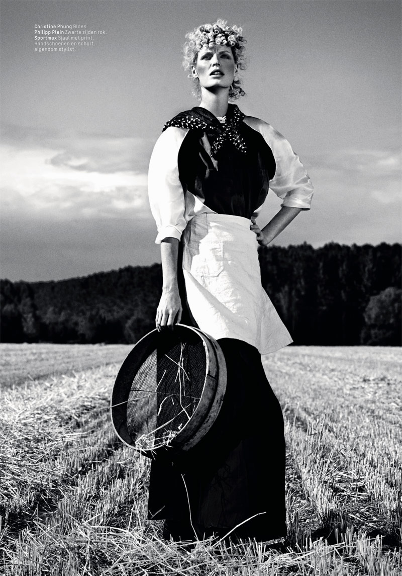 lofficiel philip riches5 Caroline Winberg Enchants for Philip Riches in LOfficiel Netherlands Shoot