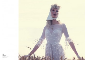 Caroline Winberg Enchants for Philip Riches in L'Officiel Netherlands' Shoot
