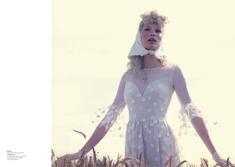 lofficiel philip riches6 Caroline Winberg Enchants for Philip Riches in LOfficiel Netherlands Shoot