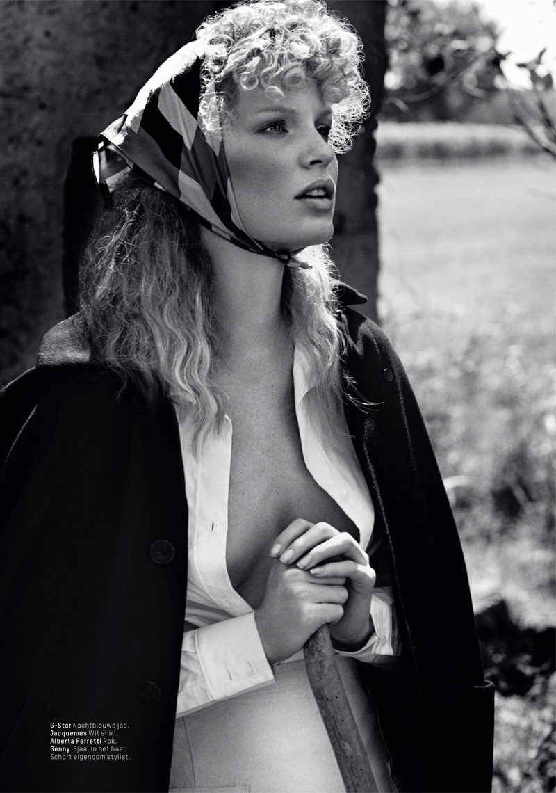 lofficiel philip riches8 Caroline Winberg Enchants for Philip Riches in LOfficiel Netherlands Shoot