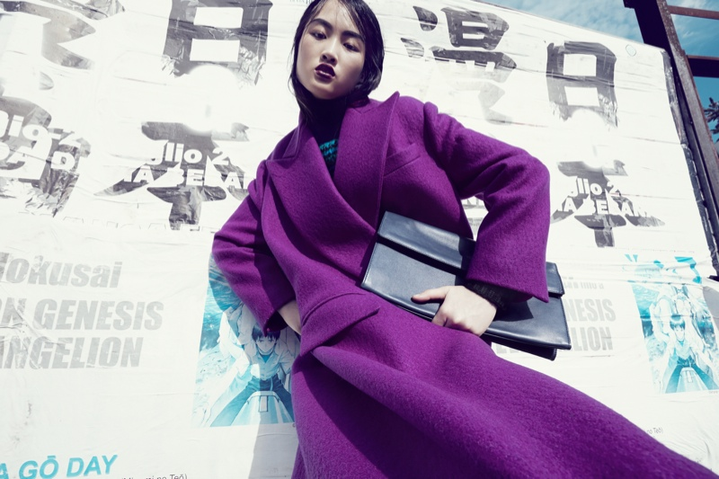 luisa via roma shoot2 Jing Wen Models Oversized Style for Luisa Via Roma Shoot