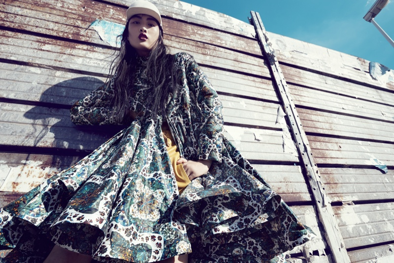 luisa via roma shoot3 Jing Wen Models Oversized Style for Luisa Via Roma Shoot