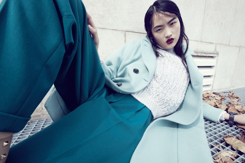 luisa via roma shoot5 Jing Wen Models Oversized Style for Luisa Via Roma Shoot