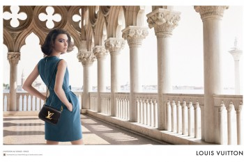 Arizona Muse Returns for Louis Vuitton L'Invitation Au Voyage Campaign