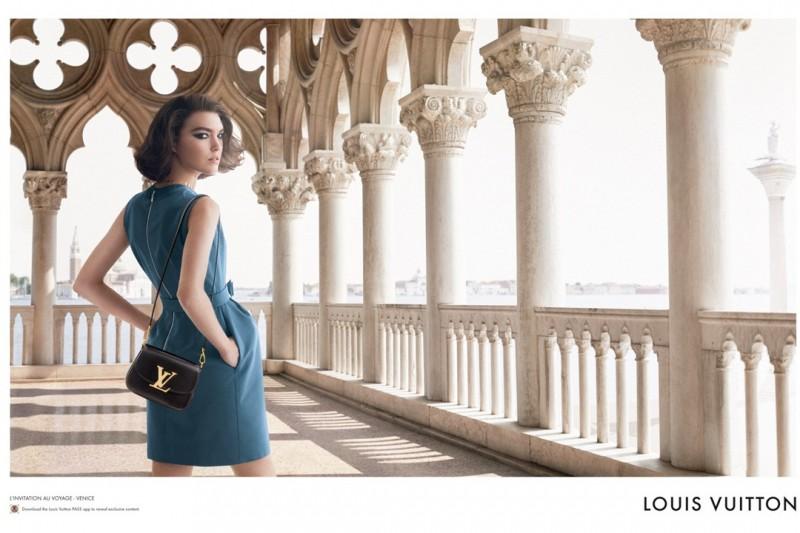 Arizona Muse Returns for Louis Vuitton L'Invitation Au Voyage Campaign