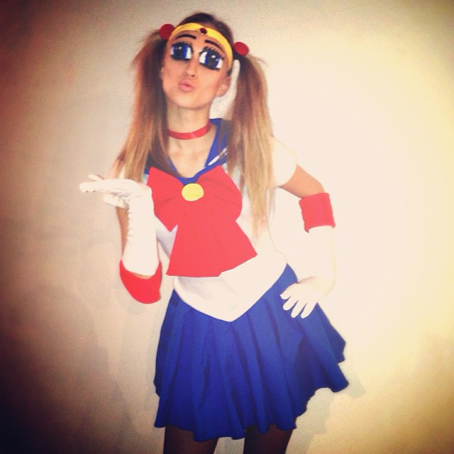 marcelina sailor moon costume Happy Halloween! See Heidi Klum, Natasha Poly + More Models in Their Costumes
