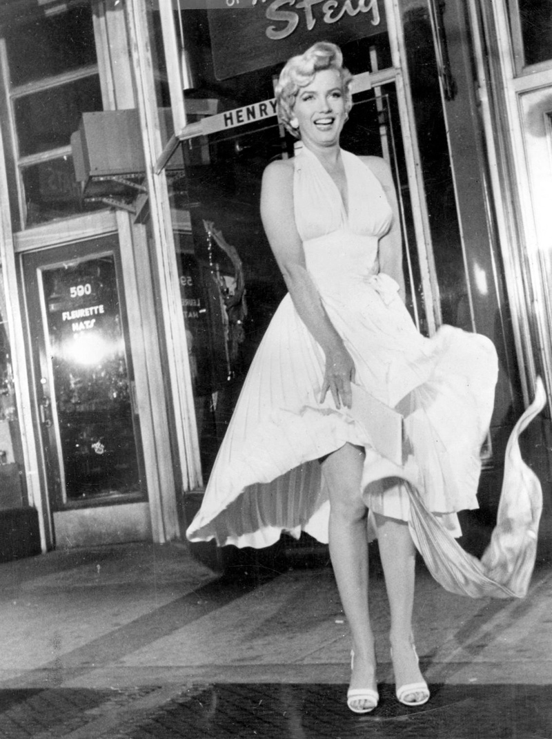 marilyn monroe seven year itch 5 Halloween Costume Ideas Inspired by Style Icons