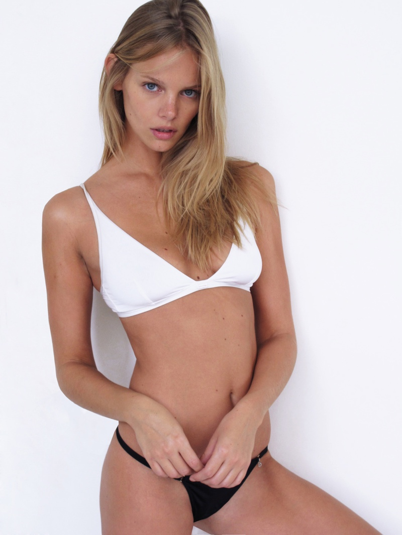 Marloes Horst Poses in New Polaroids