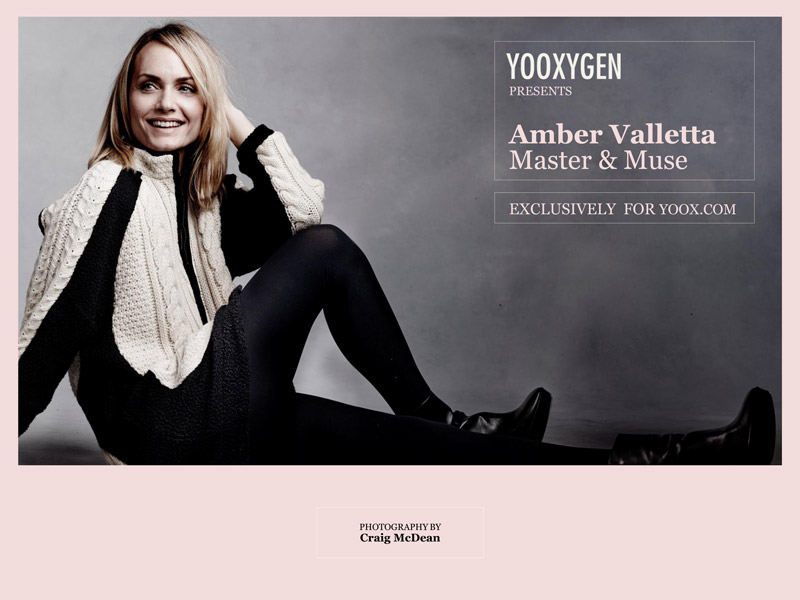 master muse amber valletta1 Amber Valletta Teams Up with Yoox for Master & Muse Collection