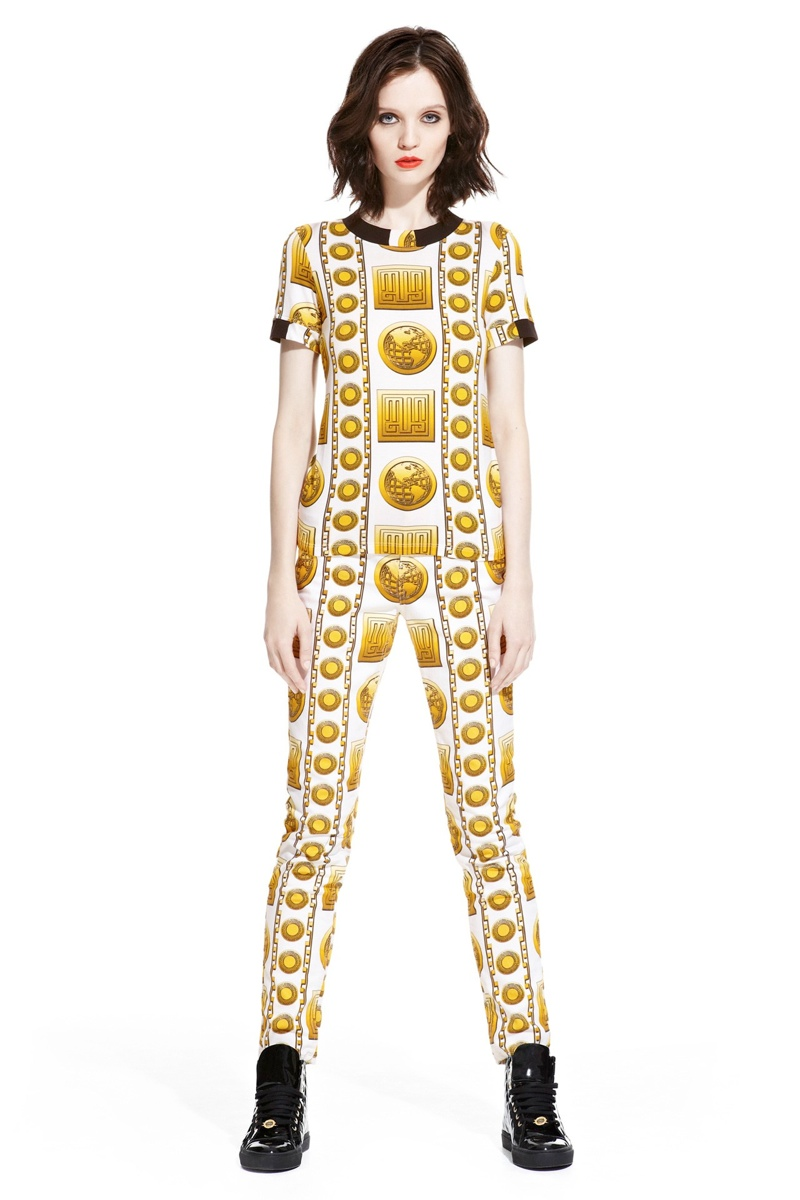 mia versus versace collection4 M.I.A. x Versus Versace Lookbook