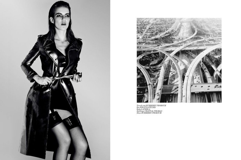 """Julia Suszfalak by Michal Kar in """"Innerstate"""" for Fashion Gone Rogue"""