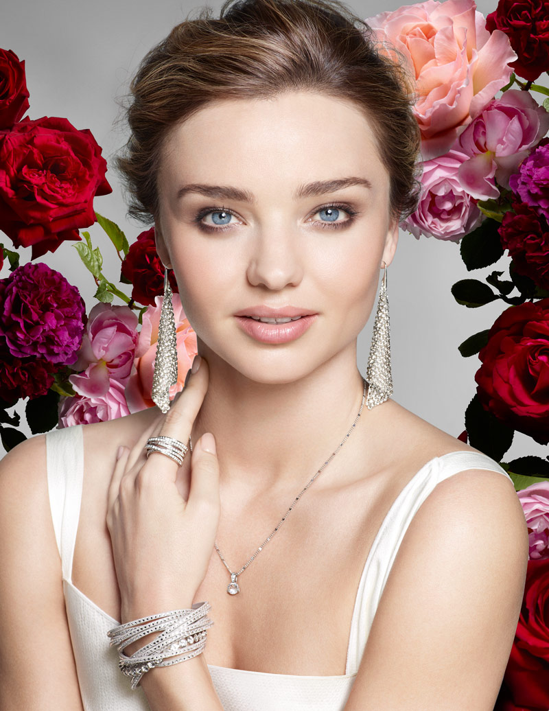 Miranda Kerr is the New Face of Swarovski Campaign by Nick Knight