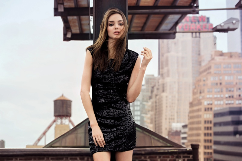 miranda mango winter6 Miranda Kerr Poses for Inez & VInoodh in Mangos Winter 2013 Campaign