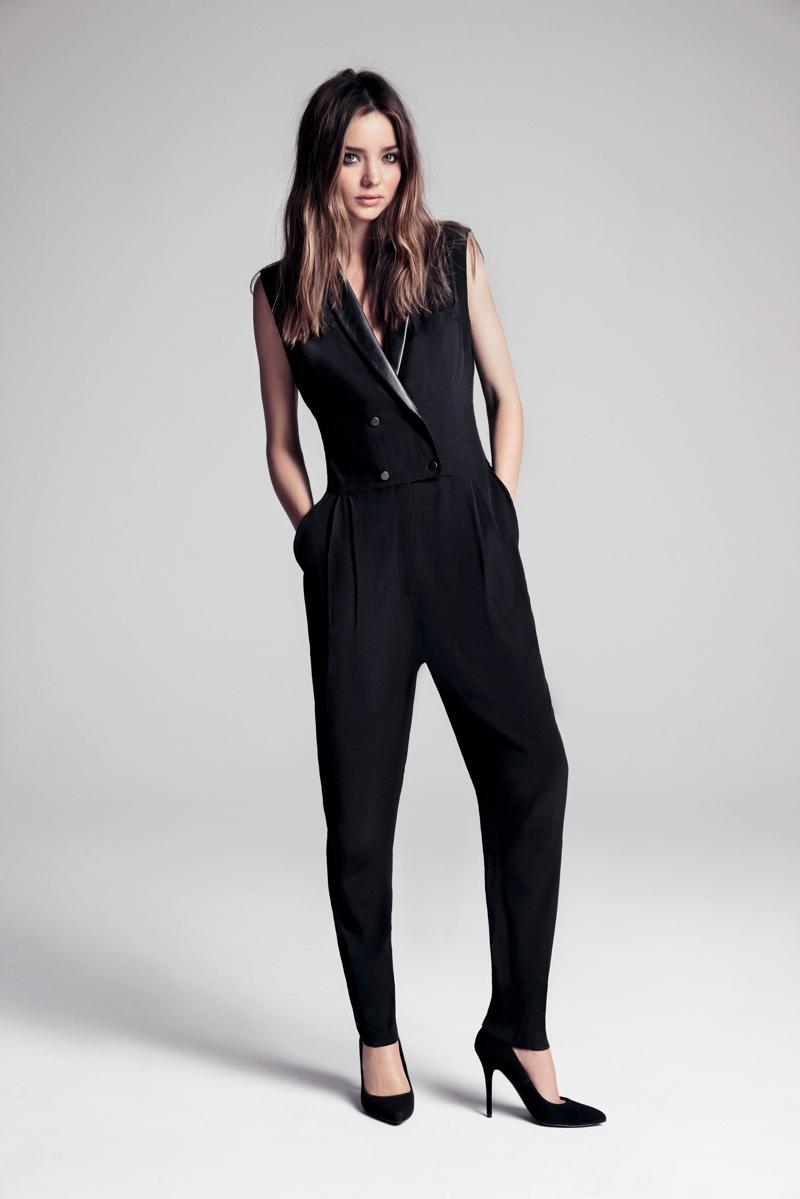 Miranda Kerr Poses for Inez & VInoodh in Mango's Winter 2013 Campaign