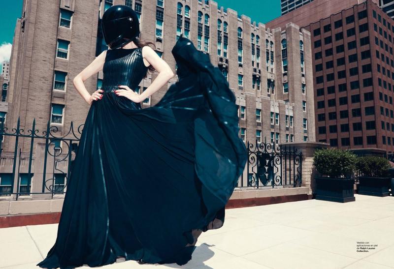 missy rayder model3 Missy Rayder Gets Glam in Harpers Bazaar Spain by Nagi Sakai