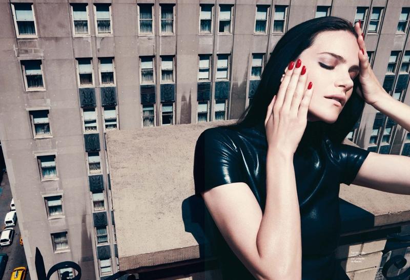 missy rayder model6 Missy Rayder Gets Glam in Harpers Bazaar Spain by Nagi Sakai