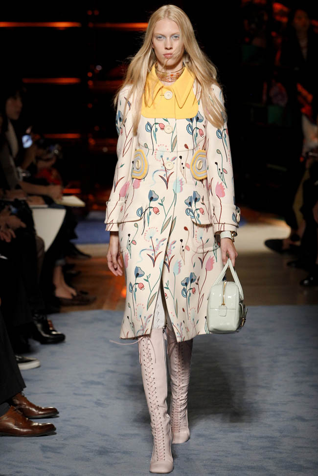 miu miu spring 2014 35 20 Standout Looks from Milan & Paris Fashion Week Spring/Summer 2014