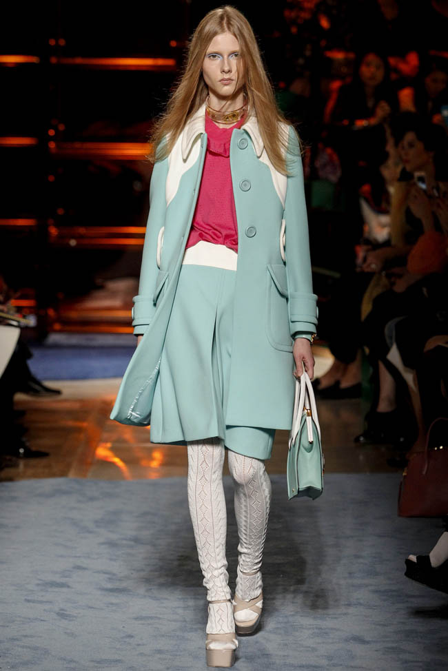 miu miu spring 2014 6 Paris Fashion Week Spring/Summer 2014 Day 9 Recap | Louis Vuitton, Miu Miu, Hermès + More