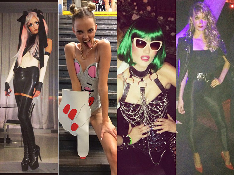 models halloween opener Happy Halloween! See Heidi Klum, Natasha Poly + More Models in Their Costumes