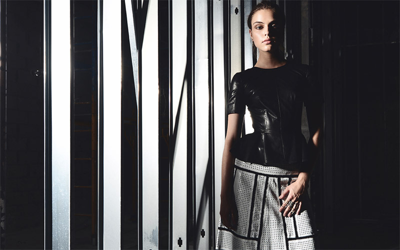 "Monika by Stefani & Jerico Angeles in ""A Fall Between"" for Fashion Gone Rogue"