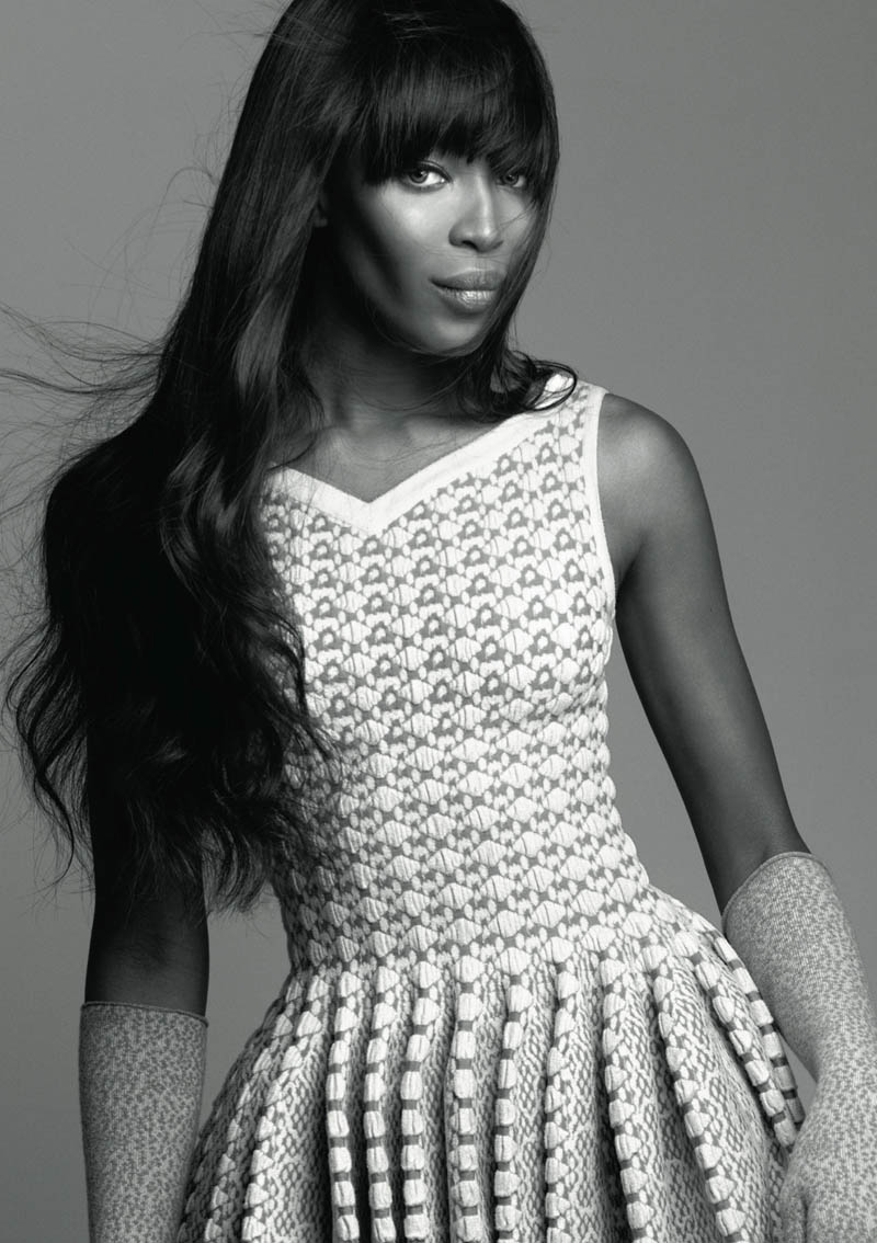 naomi campbell lofficiel2 Naomi Campbell Stars in the 5th Anniversary Issue of LOfficiel Netherlands