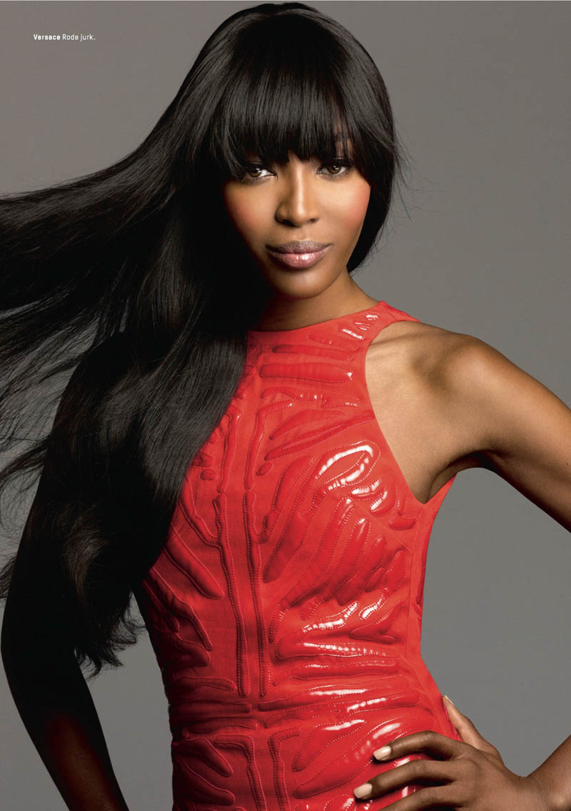 naomi campbell lofficiel4 Naomi Campbell Stars in the 5th Anniversary Issue of LOfficiel Netherlands