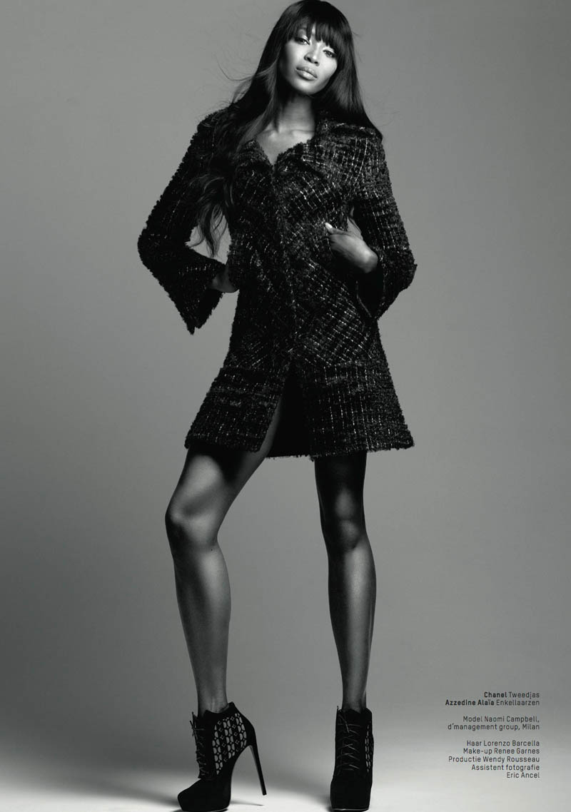 naomi campbell lofficiel5 Naomi Campbell Stars in the 5th Anniversary Issue of LOfficiel Netherlands
