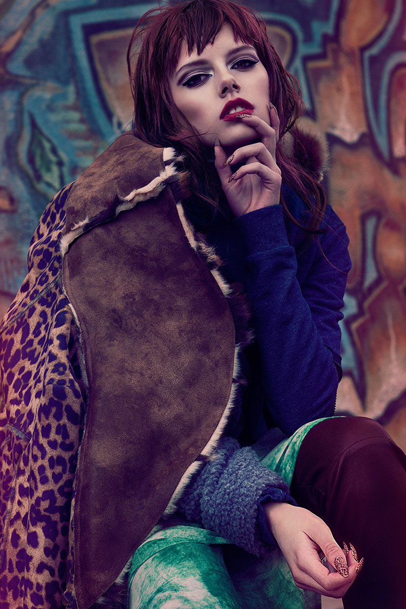 """Lisa Burestad by Ninja Hanna in """"Girl About Town"""" for Fashion Gone Rogue"""