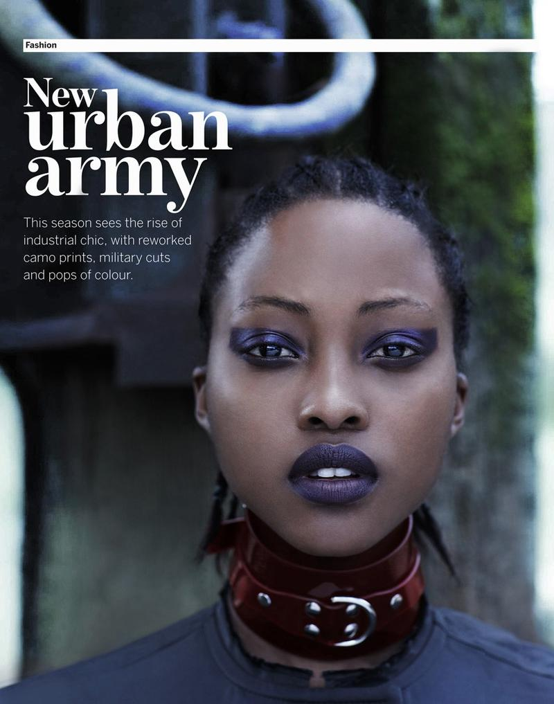 Nyasha Matonhodze Wears Urban Chic for SCMP Style Magazine