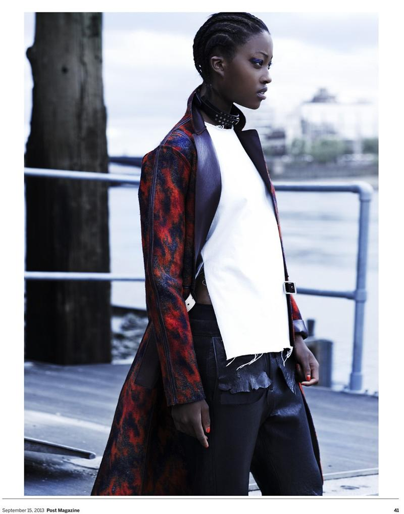 Nyasha Matonhodze Wears Urban Chic For Scmp Style Magazine