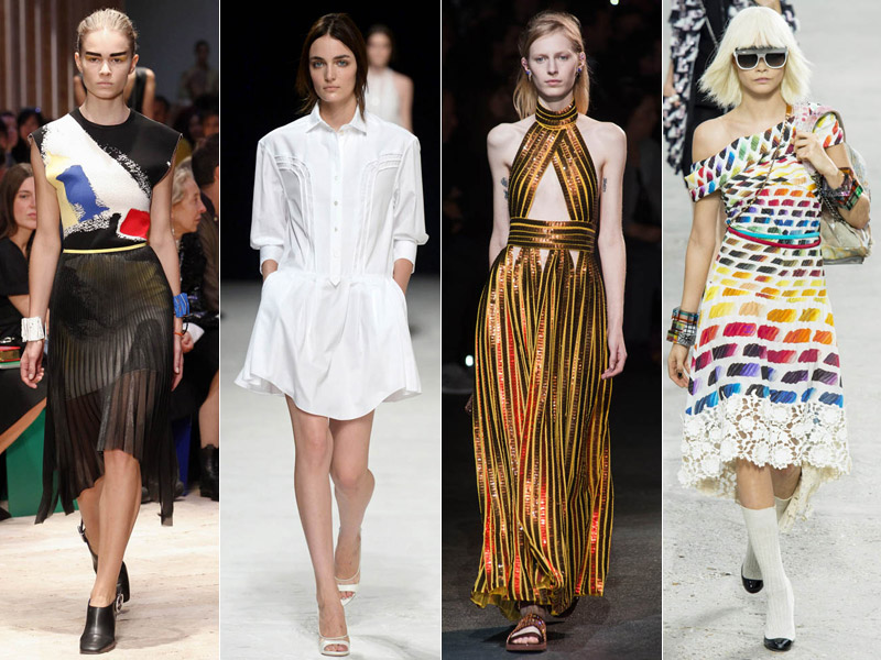 paris spring trends 5 Stunning Paris Fashion Week Spring/Summer 2014 Trends
