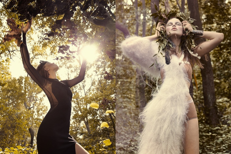 paul de luna2 Serafima Gets Ethereal for WestEast Magazine by Paul de Luna