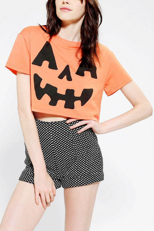 pumpkin shirt 11 Spooky Looks for Your Last Minute Halloween Shopping