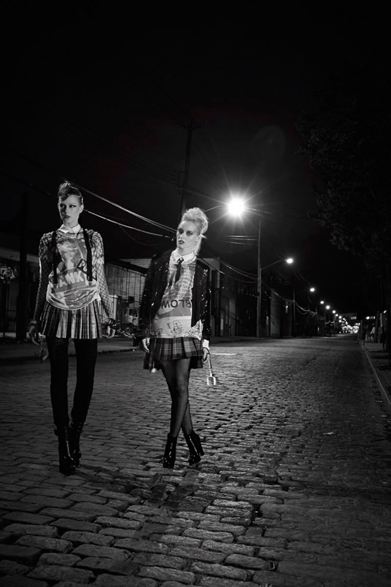 punk is dead1 Pernilla & Vanessa by Wendy Hope in Punk is Dead for Fashion Gone Rogue