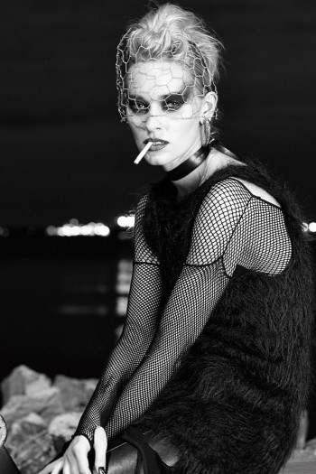 """Pernilla & Vanessa by Wendy Hope in """"Punk is Dead"""" for Fashion Gone Rogue"""